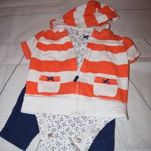 Carter's Three Piece Outfit
